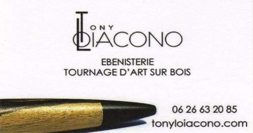 Tony Loiacono - Stylos en bois précieux